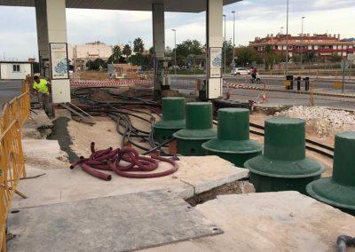 Instalación gasolineras - Coinba Hermanos Baquero