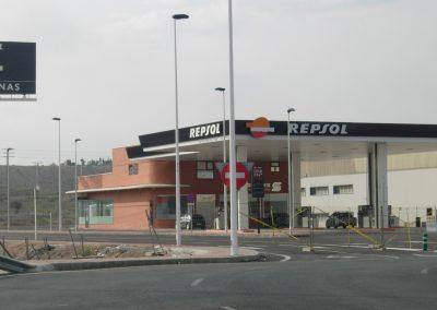 Instalación gasolinera - desgasificado para depósitos en gasolineras